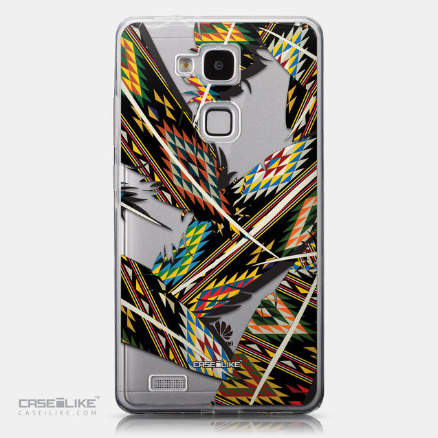 CASEiLIKE Huawei Ascend Mate 7 back cover Indian Tribal Theme Pattern 2053