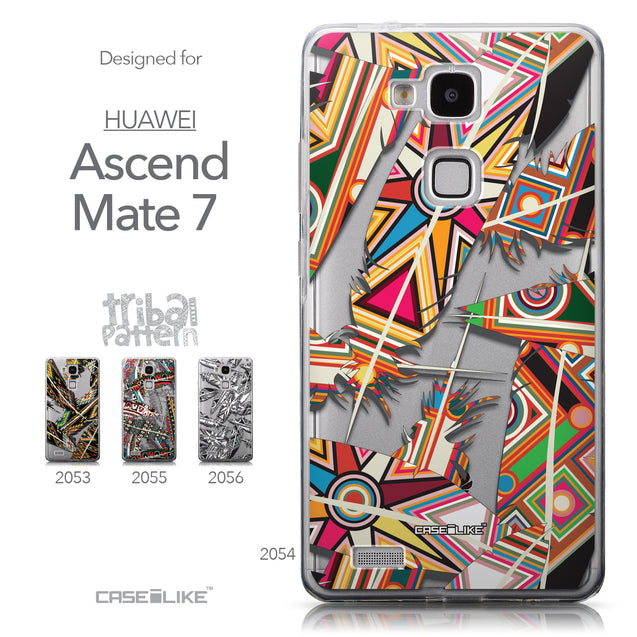 Collection - CASEiLIKE Huawei Ascend Mate 7 back cover Indian Tribal Theme Pattern 2054