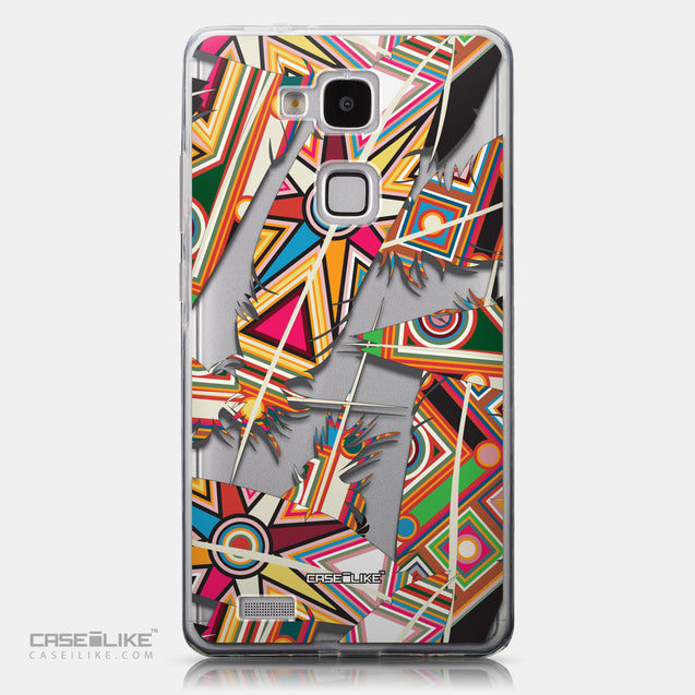 CASEiLIKE Huawei Ascend Mate 7 back cover Indian Tribal Theme Pattern 2054