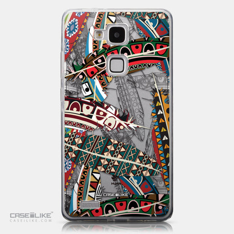 CASEiLIKE Huawei Ascend Mate 7 back cover Indian Tribal Theme Pattern 2055