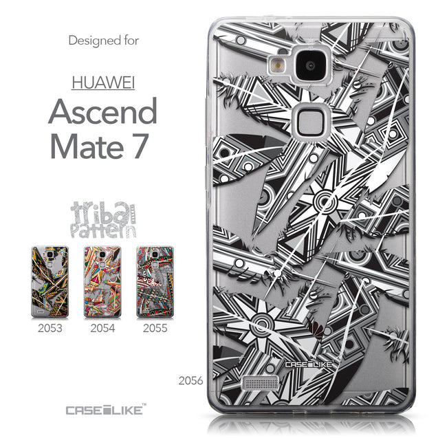 Collection - CASEiLIKE Huawei Ascend Mate 7 back cover Indian Tribal Theme Pattern 2056
