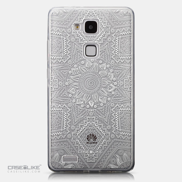 CASEiLIKE Huawei Ascend Mate 7 back cover Indian Line Art 2061