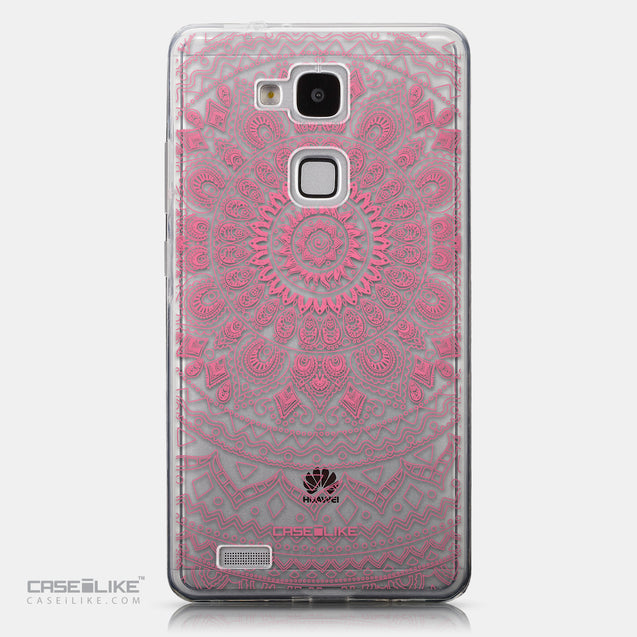 CASEiLIKE Huawei Ascend Mate 7 back cover Indian Line Art 2062