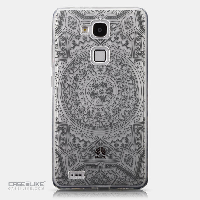 CASEiLIKE Huawei Ascend Mate 7 back cover Indian Line Art 2063
