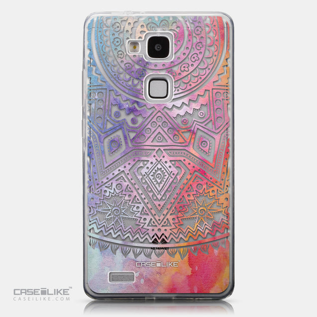 CASEiLIKE Huawei Ascend Mate 7 back cover Indian Line Art 2065