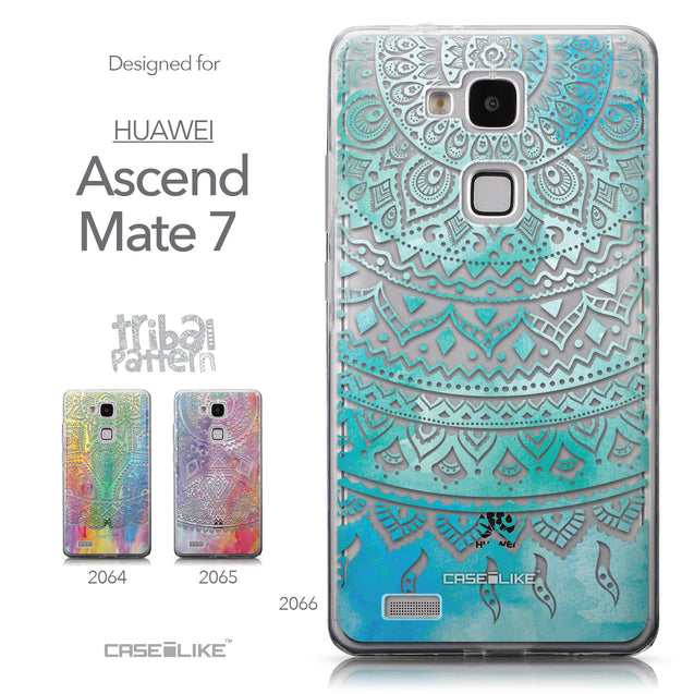 Collection - CASEiLIKE Huawei Ascend Mate 7 back cover Indian Line Art 2066