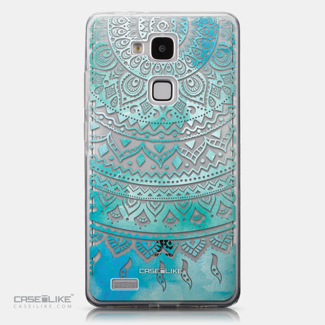 CASEiLIKE Huawei Ascend Mate 7 back cover Indian Line Art 2066