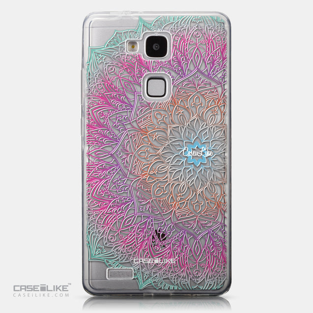 CASEiLIKE Huawei Ascend Mate 7 back cover Mandala Art 2090