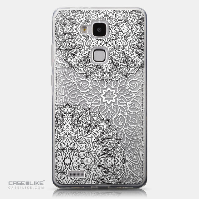 CASEiLIKE Huawei Ascend Mate 7 back cover Mandala Art 2093