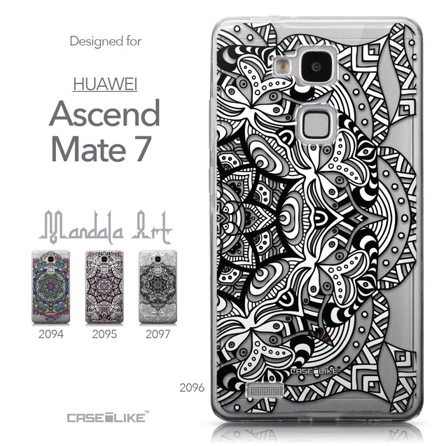 Collection - CASEiLIKE Huawei Ascend Mate 7 back cover Mandala Art 2096