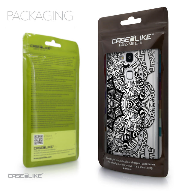 Packaging - CASEiLIKE Huawei Ascend Mate 7 back cover Mandala Art 2096