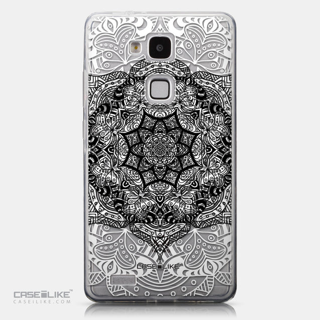 CASEiLIKE Huawei Ascend Mate 7 back cover Mandala Art 2097