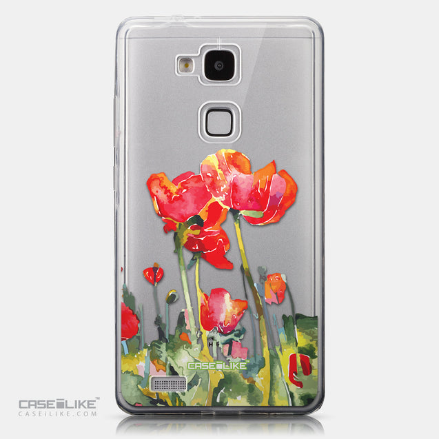 CASEiLIKE Huawei Ascend Mate 7 back cover Watercolor Floral 2230