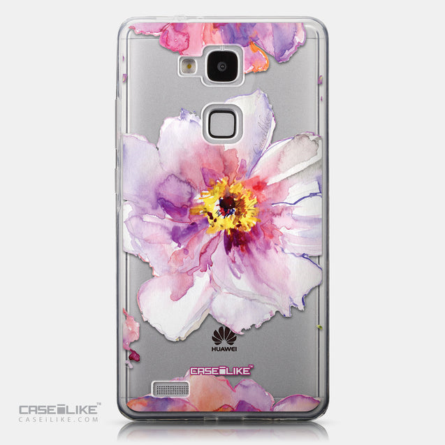 CASEiLIKE Huawei Ascend Mate 7 back cover Watercolor Floral 2231