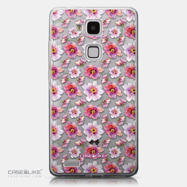 CASEiLIKE Huawei Ascend Mate 7 back cover Watercolor Floral 2232