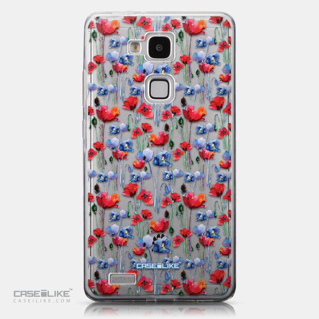 CASEiLIKE Huawei Ascend Mate 7 back cover Watercolor Floral 2233