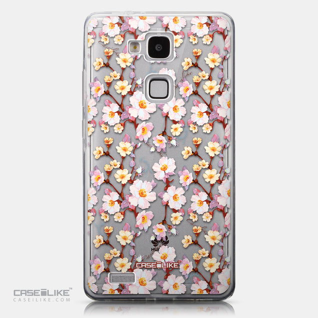 CASEiLIKE Huawei Ascend Mate 7 back cover Watercolor Floral 2236
