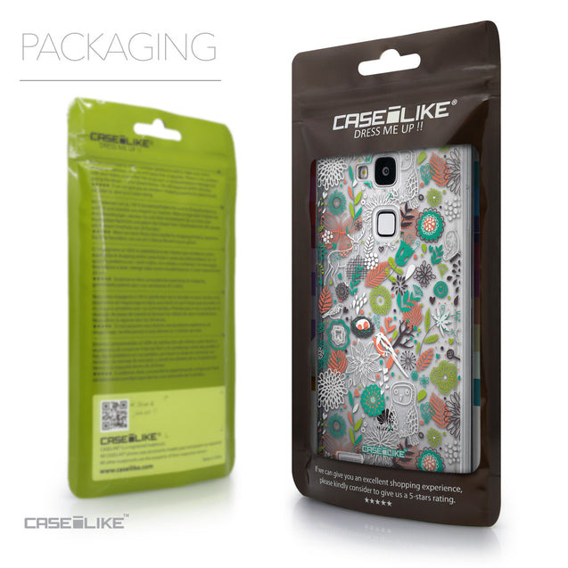 Packaging - CASEiLIKE Huawei Ascend Mate 7 back cover Spring Forest White 2241