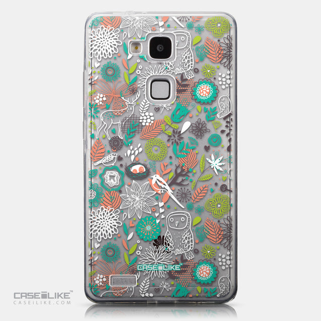 CASEiLIKE Huawei Ascend Mate 7 back cover Spring Forest White 2241