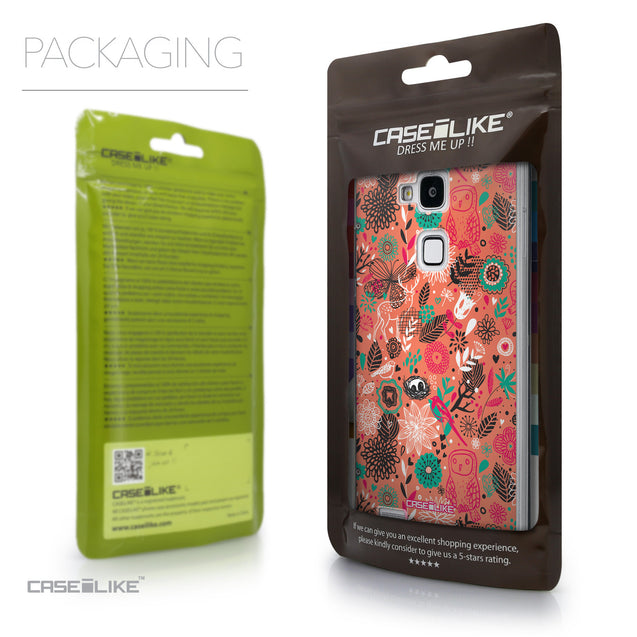 Packaging - CASEiLIKE Huawei Ascend Mate 7 back cover Spring Forest Pink 2242