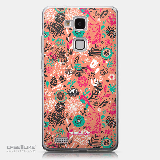 CASEiLIKE Huawei Ascend Mate 7 back cover Spring Forest Pink 2242