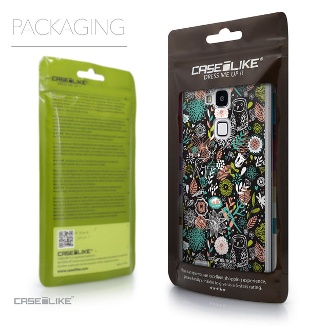 Packaging - CASEiLIKE Huawei Ascend Mate 7 back cover Spring Forest Black 2244