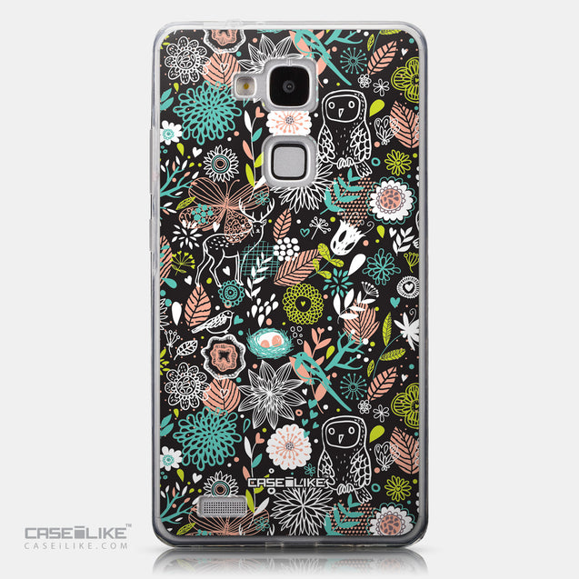 CASEiLIKE Huawei Ascend Mate 7 back cover Spring Forest Black 2244