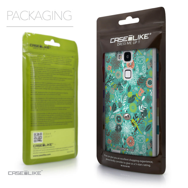 Packaging - CASEiLIKE Huawei Ascend Mate 7 back cover Spring Forest Turquoise 2245