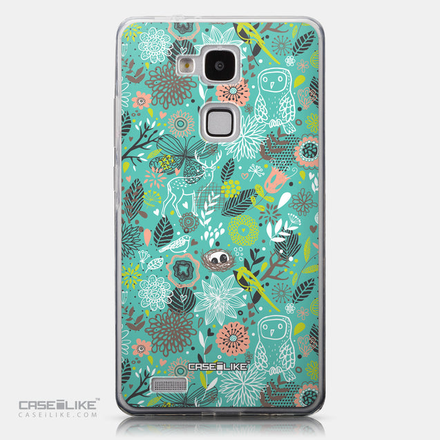 CASEiLIKE Huawei Ascend Mate 7 back cover Spring Forest Turquoise 2245