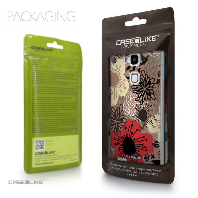 Packaging - CASEiLIKE Huawei Ascend Mate 7 back cover Japanese Floral 2254