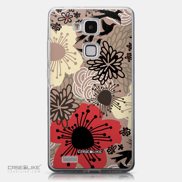 CASEiLIKE Huawei Ascend Mate 7 back cover Japanese Floral 2254