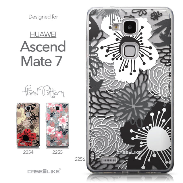 Collection - CASEiLIKE Huawei Ascend Mate 7 back cover Japanese Floral 2256