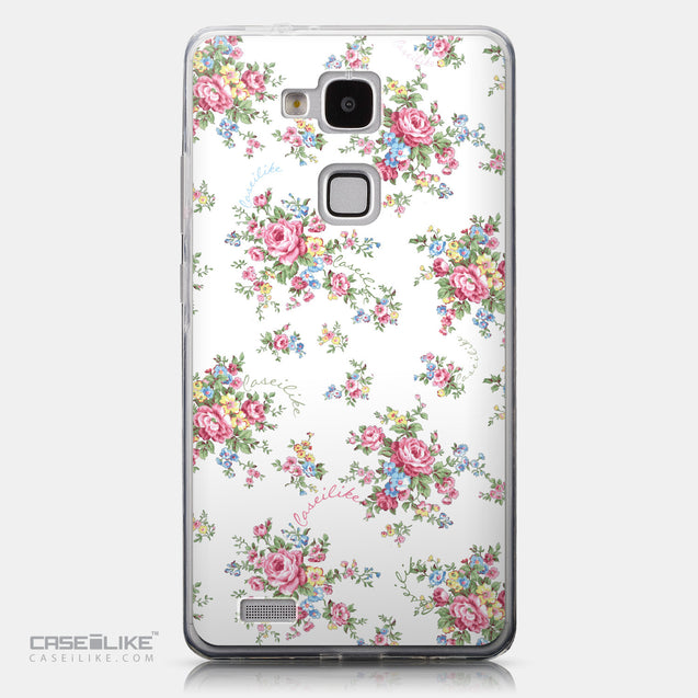 CASEiLIKE Huawei Ascend Mate 7 back cover Floral Rose Classic 2260