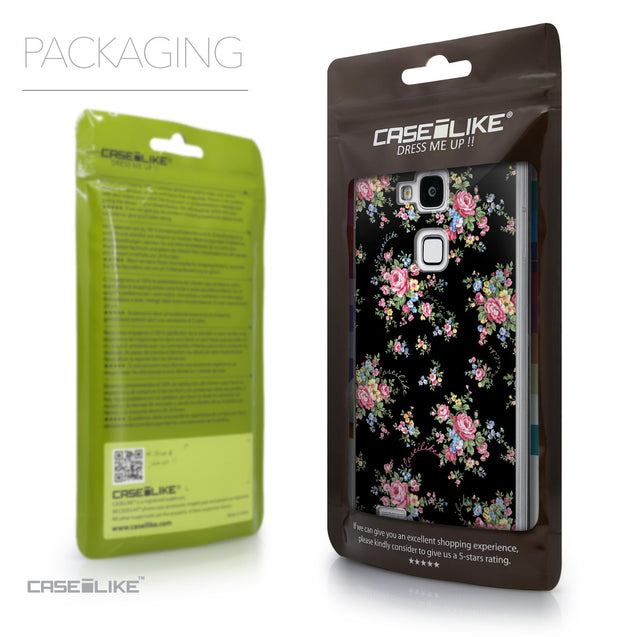 Packaging - CASEiLIKE Huawei Ascend Mate 7 back cover Floral Rose Classic 2261