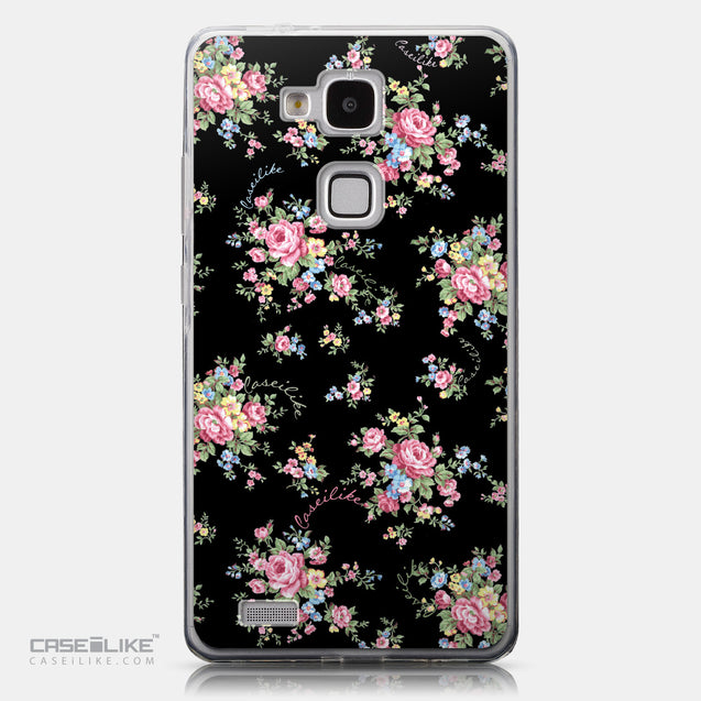 CASEiLIKE Huawei Ascend Mate 7 back cover Floral Rose Classic 2261