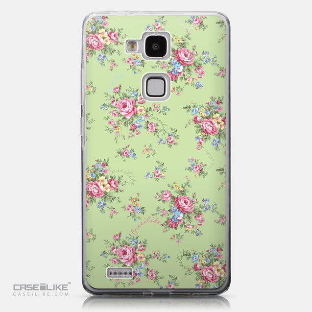 CASEiLIKE Huawei Ascend Mate 7 back cover Floral Rose Classic 2262