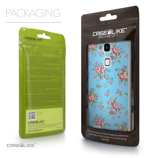 Packaging - CASEiLIKE Huawei Ascend Mate 7 back cover Floral Rose Classic 2263