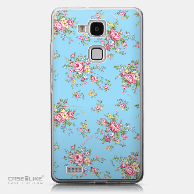 CASEiLIKE Huawei Ascend Mate 7 back cover Floral Rose Classic 2263