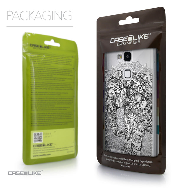 Packaging - CASEiLIKE Huawei Ascend Mate 7 back cover Mandala Art 2300
