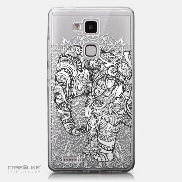 CASEiLIKE Huawei Ascend Mate 7 back cover Mandala Art 2300