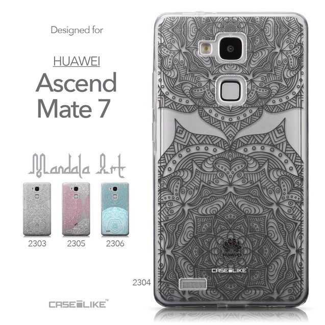 Collection - CASEiLIKE Huawei Ascend Mate 7 back cover Mandala Art 2304