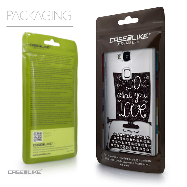 Packaging - CASEiLIKE Huawei Ascend Mate 7 back cover Quote 2400