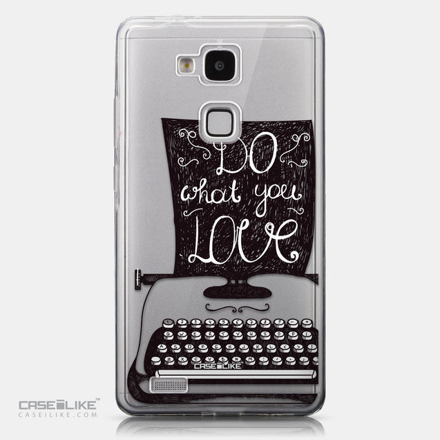 CASEiLIKE Huawei Ascend Mate 7 back cover Quote 2400