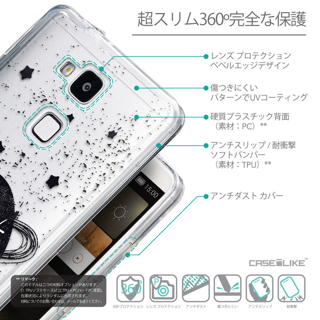 Details in Japanese - CASEiLIKE Huawei Ascend Mate 7 back cover Quote 2401