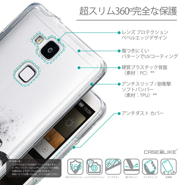 Details in Japanese - CASEiLIKE Huawei Ascend Mate 7 back cover Quote 2402