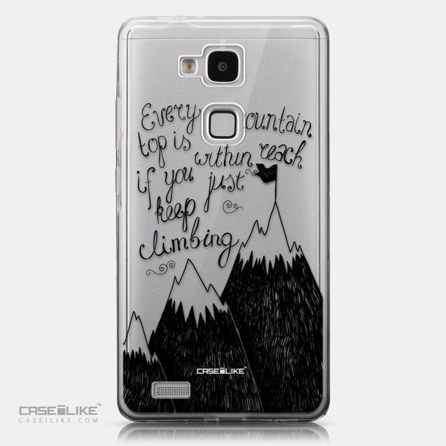 CASEiLIKE Huawei Ascend Mate 7 back cover Quote 2403