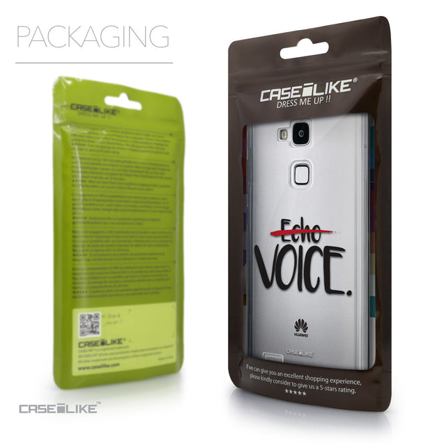 Packaging - CASEiLIKE Huawei Ascend Mate 7 back cover Quote 2405