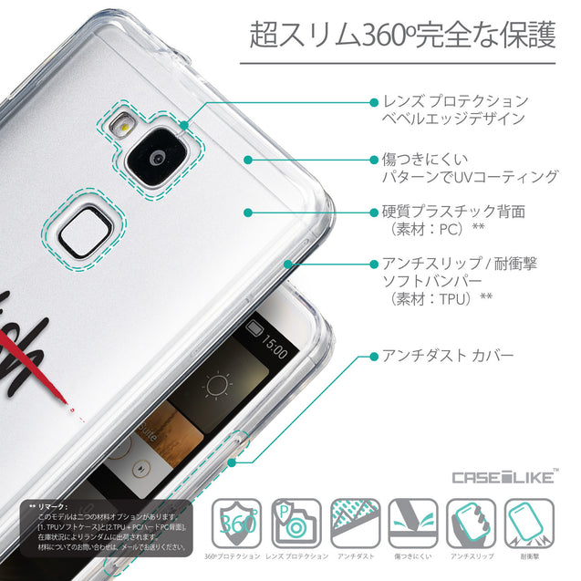 Details in Japanese - CASEiLIKE Huawei Ascend Mate 7 back cover Quote 2407