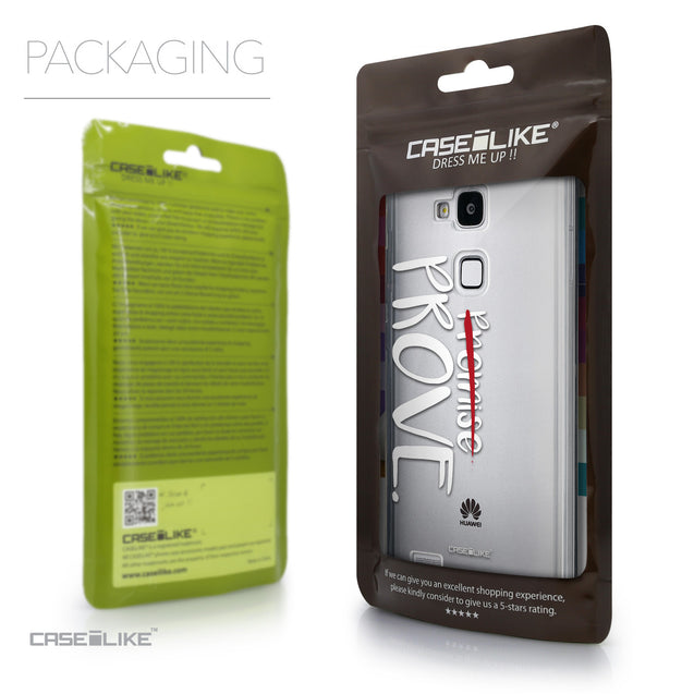Packaging - CASEiLIKE Huawei Ascend Mate 7 back cover Quote 2409