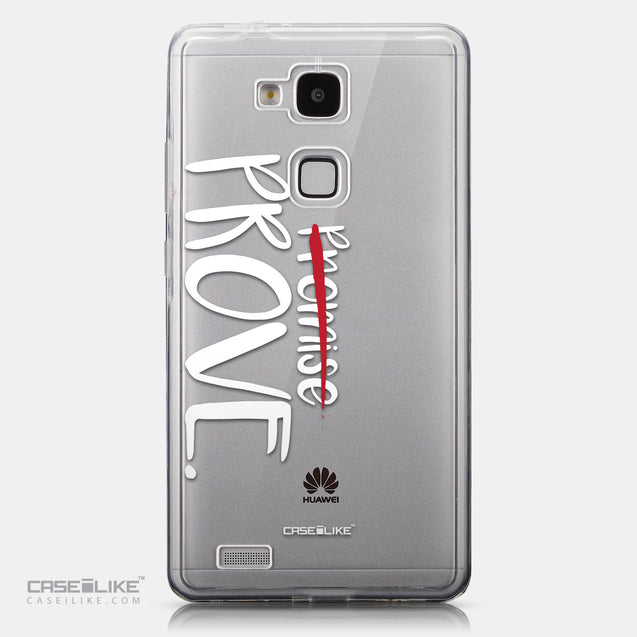 CASEiLIKE Huawei Ascend Mate 7 back cover Quote 2409